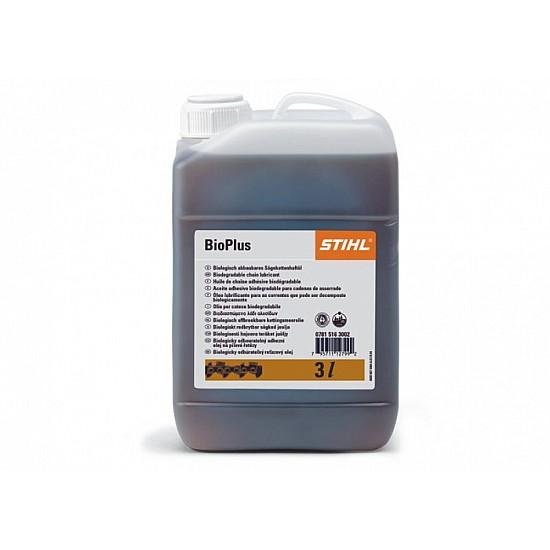 STIHL Adhézny olej na pílové reťaze  BioPlus 3 l