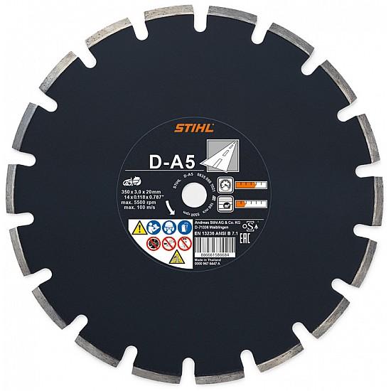 STIHL Diamantový rozbrusovací kotúč - Asfalt (A) D-A5 350 mm