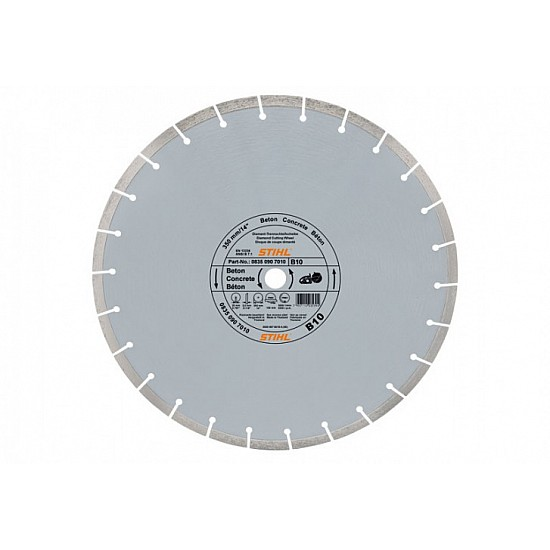 STIHL Diamantový rozbrusovací kotúč - Betón (B) 300 mm D-B10