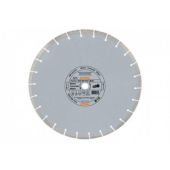 STIHL Diamantový rozbrusovací kotúč - Betón (B) 350 mm D-B10