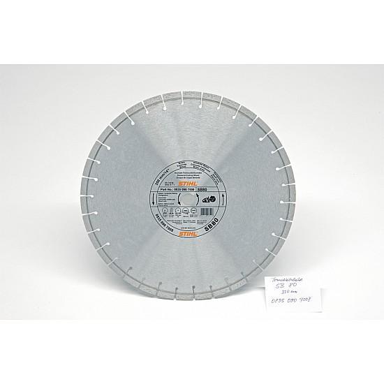STIHL Diamantový rozbrusovací kotúč - Liatinové potrubie (G), D-G80, 350mm