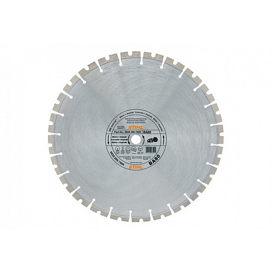 STIHL Diamantový rozbrusovací kotúč - Tvrdé horniny/betón (SB) 400 mm D-SB80