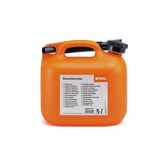 STIHL Kanister na benzín - 5 l, oranžový