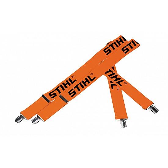 STIHL Traky oranžové 130 cm, spony