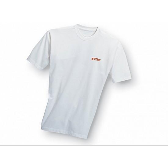 Tričko biele s logom STIHL S