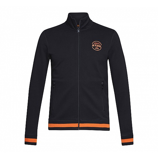 Pánsky sveter na zips XL