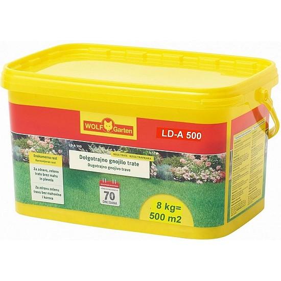 Hnojivo na trávnik WOLF-Garten LD-A 500 CZ/SK/HR/SLO